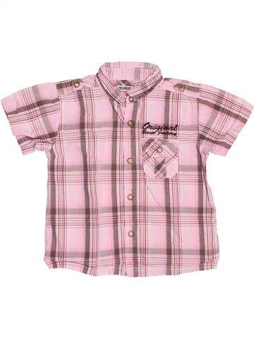 Chemise manches courtes garçon TAPE À L'OEIL rose 3 ans été #1536243_1