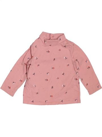 T-shirt col roulé fille SERGENT MAJOR rose 12 mois hiver #1536275_1