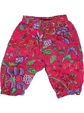 Pantalón niña CATIMINI rosa 6 meses verano #1536360_1