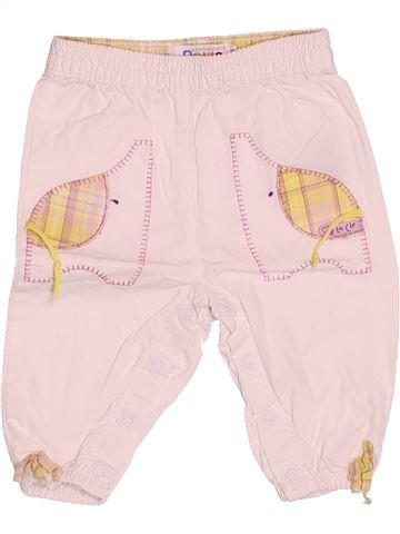 Pantalon fille LA COMPAGNIE DES PETITS rose 6 mois été #1536399_1