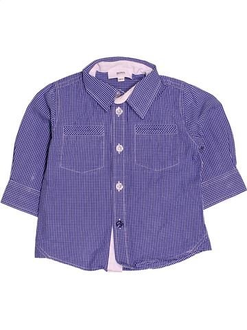 84282f27d46 Camisa de manga larga niño HUGO BOSS púrpura 6 meses invierno  1536539 1