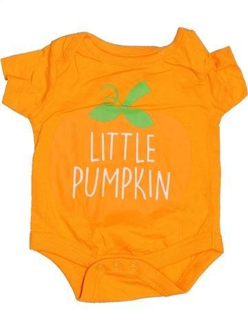 T-shirt manches courtes garçon PEP&CO orange naissance été #1537360_1