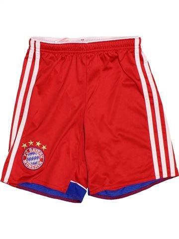 Pantalon corto deportivos niño ADIDAS rojo 10 años verano #1537639_1