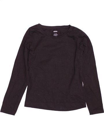 Camiseta de manga larga niña HEMA negro 6 años invierno #1537655_1