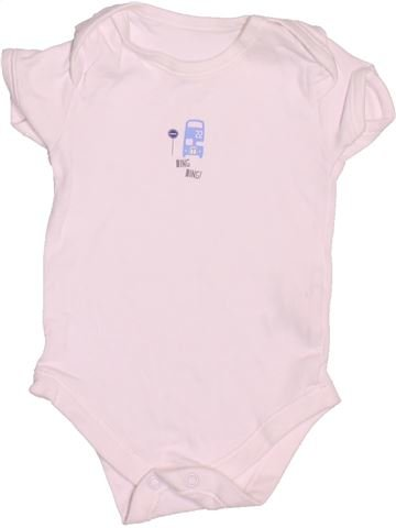 Camiseta de manga corta niño MATALAN rosa 6 meses verano #1537677_1