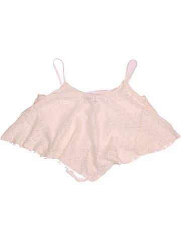 T-shirt sans manches fille NEW LOOK rose 11 ans été #1537937_1