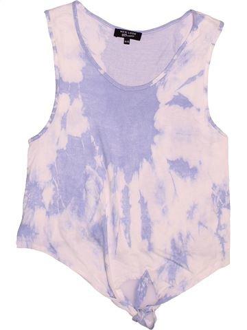 T-shirt sans manches fille NEW LOOK blanc 15 ans été #1537966_1