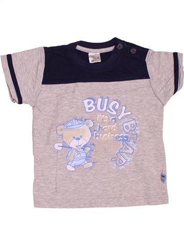 Camiseta de manga corta niño SANS MARQUE rosa 2 años verano #1538125_1