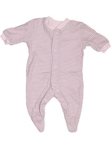 Pyjama 1 pièce garçon F&F rose naissance été #1538185_1