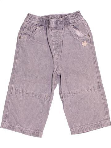 Pantalon garçon TAPE À L'OEIL gris 12 mois été #1538604_1