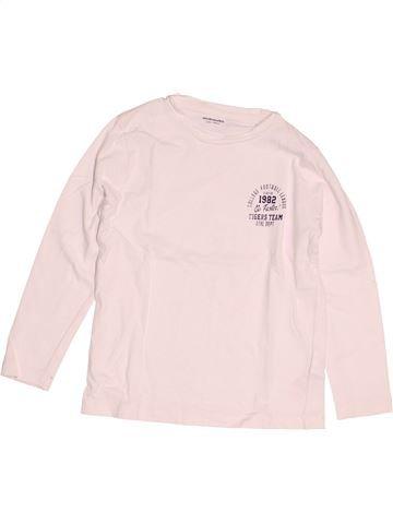 Camiseta de manga larga niño VERTBAUDET blanco 5 años invierno #1538663_1
