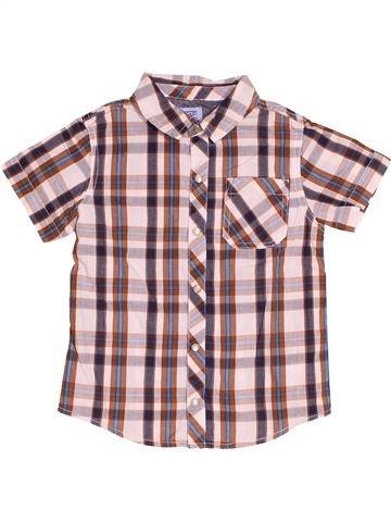 Chemise manches courtes garçon F&F rose 4 ans été #1538714_1