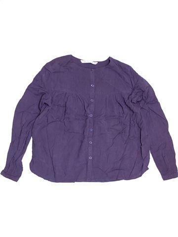 Blouse manches longues fille TERRANOVA violet 11 ans hiver #1538998_1
