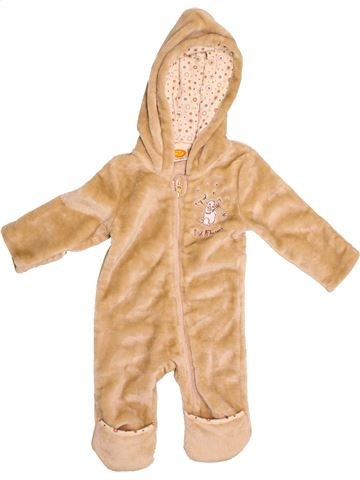 Combi-Pilote unisexe BABY & CO beige 12 mois hiver #1539492_1