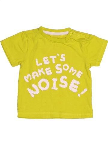 Camiseta de manga corta niño NUTMEG amarillo 9 meses verano #1539613_1