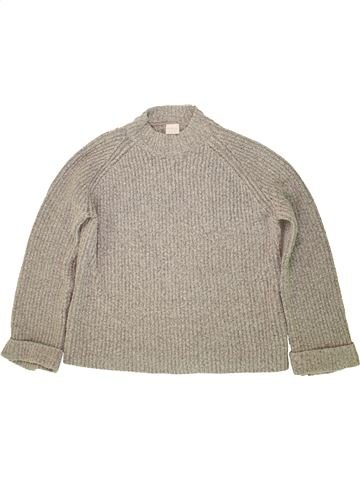 Pull fille F&F gris 14 ans hiver #1540236_1