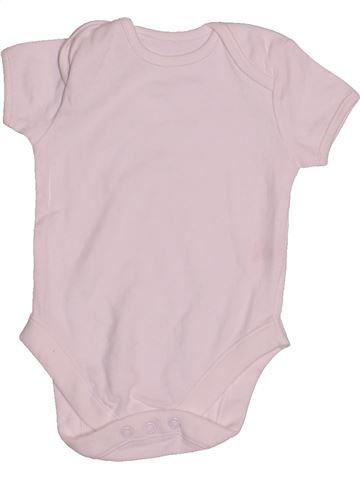 T-shirt manches courtes unisexe PEP&CO rose 6 mois été #1540394_1