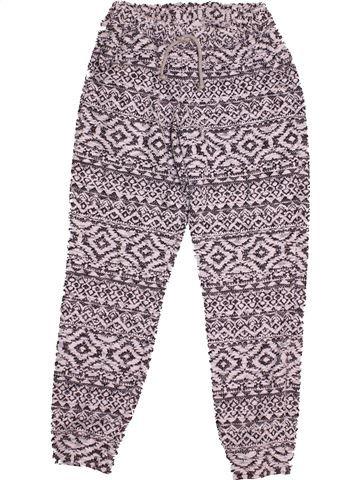 Pantalon fille F&F gris 12 ans été #1540491_1