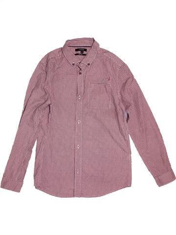 Camisa de manga larga niño MARKS & SPENCER rosa 12 años invierno #1540740_1