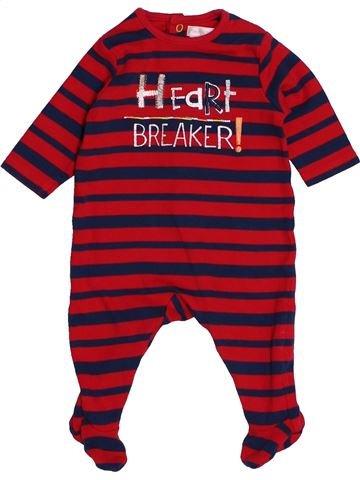 Pijama de 1 pieza niño MAMAS & PAPAS rojo 0 meses verano #1541110_1