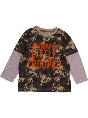 Camiseta de manga larga niño NUTMEG marrón 4 años invierno #1541120_1