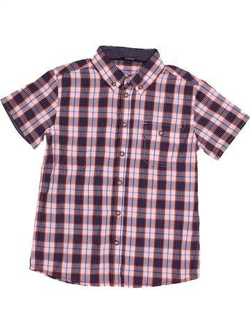 Chemise manches courtes garçon GEORGE violet 9 ans été #1541238_1