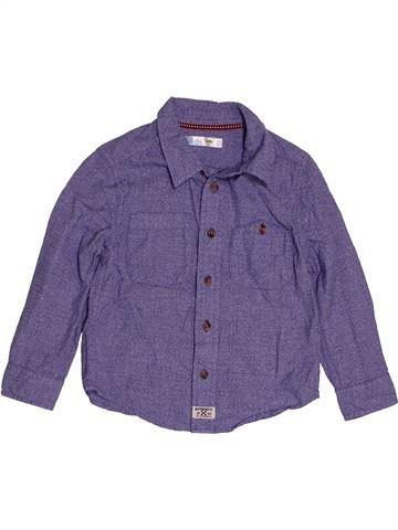 Camisa de manga larga niño M&CO azul 4 años invierno #1541275_1