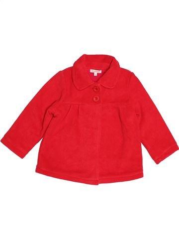 Manteau fille DEBENHAMS rouge 4 ans hiver #1541494_1