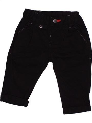 Pantalon garçon GRAIN DE BLÉ noir 6 mois hiver #1541652_1