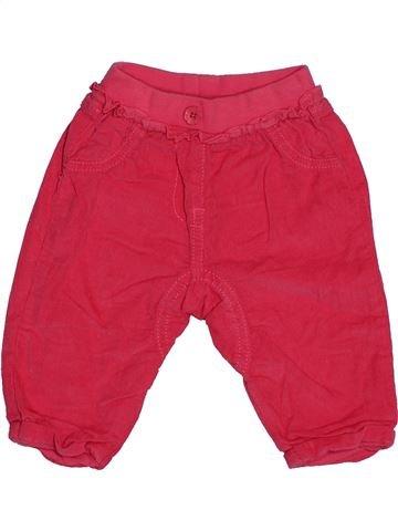 Pantalón niño GEORGE rosa 6 meses invierno #1541670_1