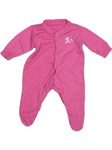 Pyjama 1 pièce fille PRIMARK rose 3 mois été #1541702_1
