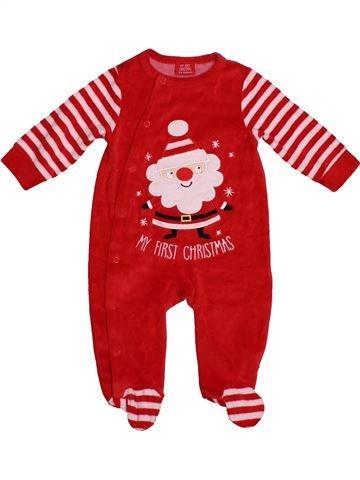 Pyjama 1 pièce fille SANS MARQUE rose 6 mois hiver #1541704_1