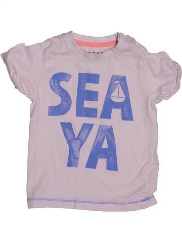 Camiseta de manga corta niño NUTMEG gris 18 meses verano #1541722_1