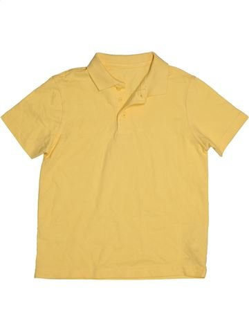 Polo de manga corta niño GEORGE amarillo 7 años verano #1541863_1