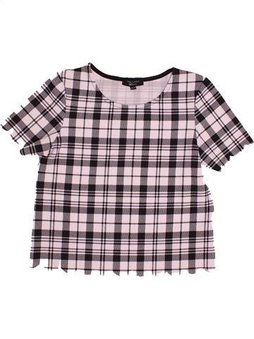 T-shirt manches courtes fille NEW LOOK gris 15 ans été #1541947_1