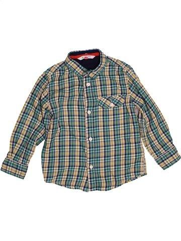 Chemise manches longues garçon JOHN LEWIS gris 5 ans hiver #1542217_1