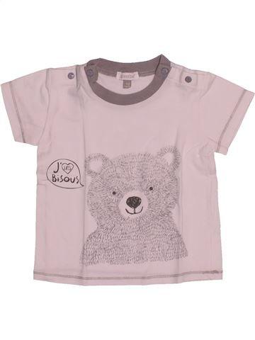 T-shirt manches courtes garçon ABSORBA rose 12 mois été #1542410_1