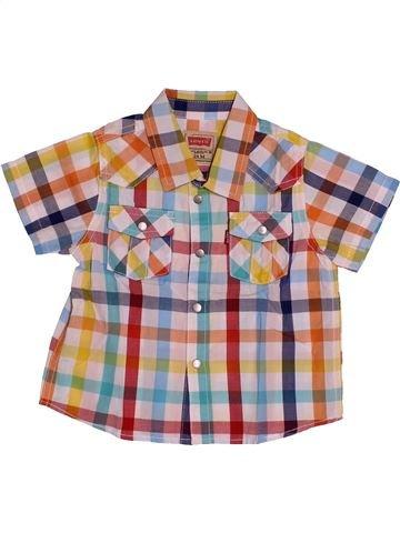 Chemise manches courtes garçon LEVI'S beige 2 ans été #1542442_1