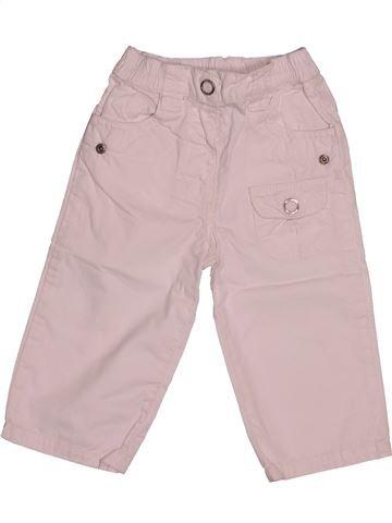 Pantalon fille DPAM rose 12 mois été #1542541_1