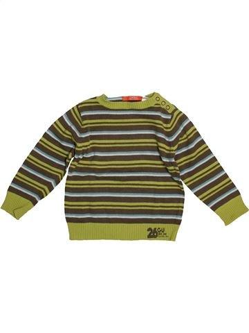 jersey niño LA REDOUTE marrón 3 años invierno #1542740_1