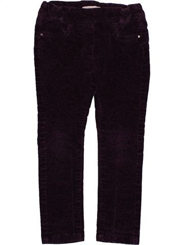 Pantalón niña VERTBAUDET negro 2 años invierno #1542840_1