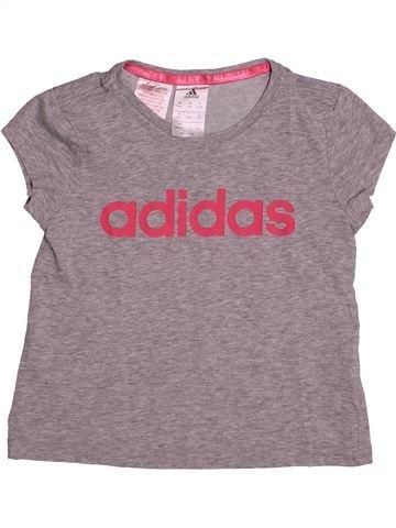 Ropa deportiva niña ADIDAS gris 6 años verano #1542851_1