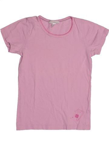 T-shirt manches courtes fille VERTBAUDET rose 8 ans été #1542943_1
