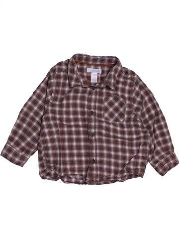 Camisa de manga larga niño OKAIDI gris 12 meses invierno #1543093_1