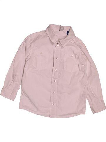 Camisa de manga larga niño OKAIDI rosa 3 años invierno #1543319_1