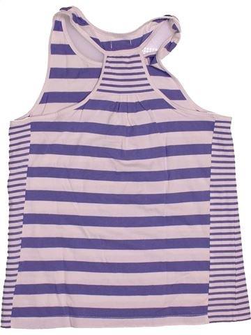T-shirt sans manches fille DPAM bleu 14 ans été #1543322_1