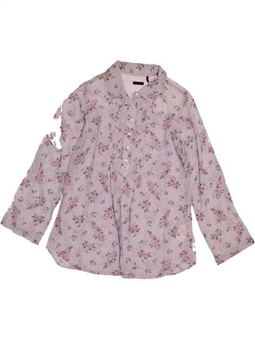 Blouse manches longues fille IKKS rose 10 ans hiver #1543593_1