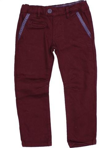 Pantalon garçon SERGENT MAJOR marron 2 ans hiver #1543678_1