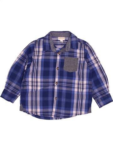 Camisa de manga larga niño VERTBAUDET violeta 4 años invierno #1543860_1