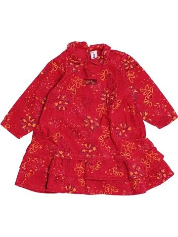 Robe fille SUCRE D'ORGE rouge 18 mois hiver #1543893_1